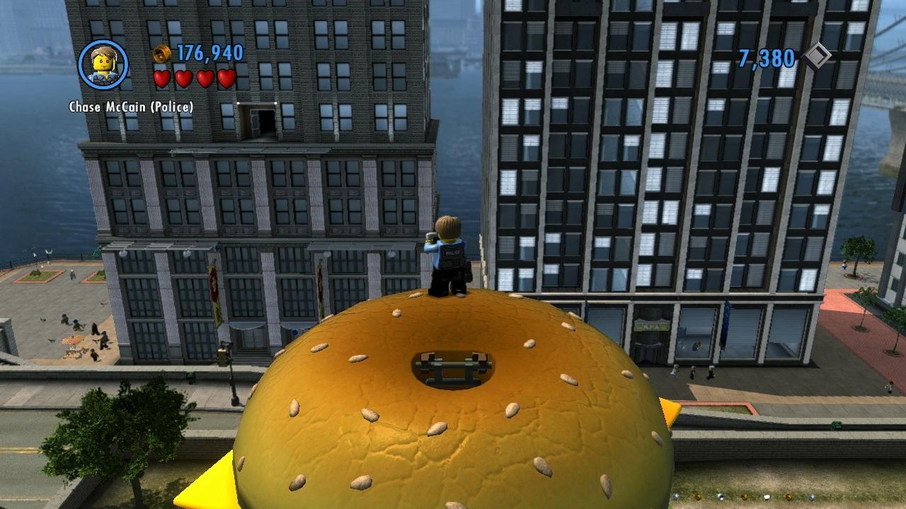 LEGO City Undercover – kostka ke kostce sedá 73289