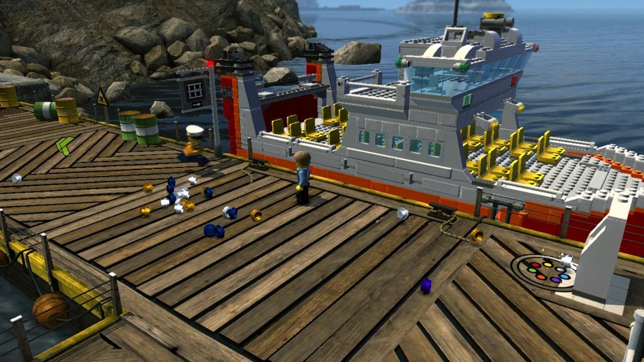 LEGO City Undercover – kostka ke kostce sedá 73290