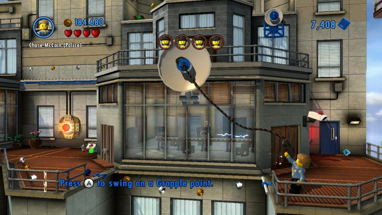 LEGO City Undercover – kostka ke kostce sedá 73293