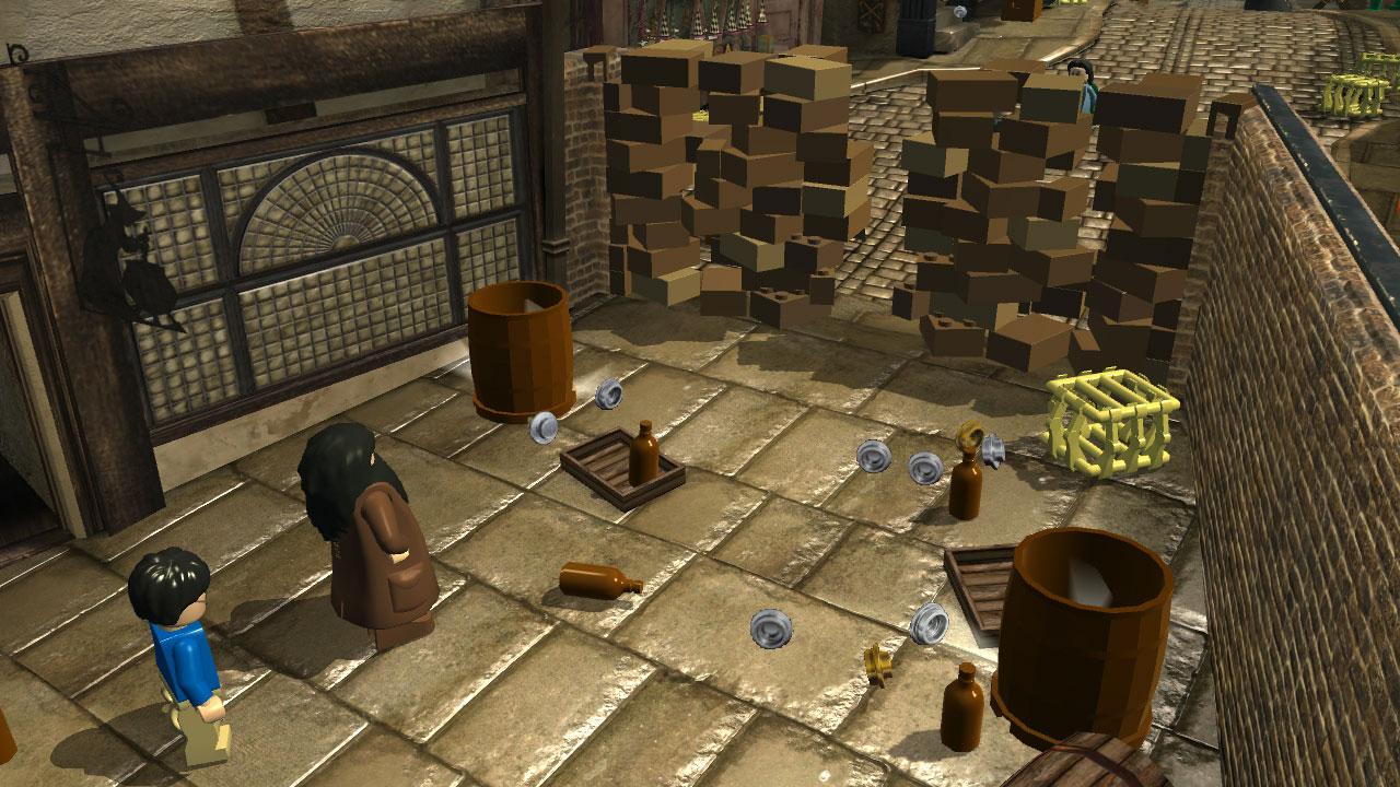 LEGO Harry Potter: Years 1-4 – navštivte kostičkované Bradavice 7493