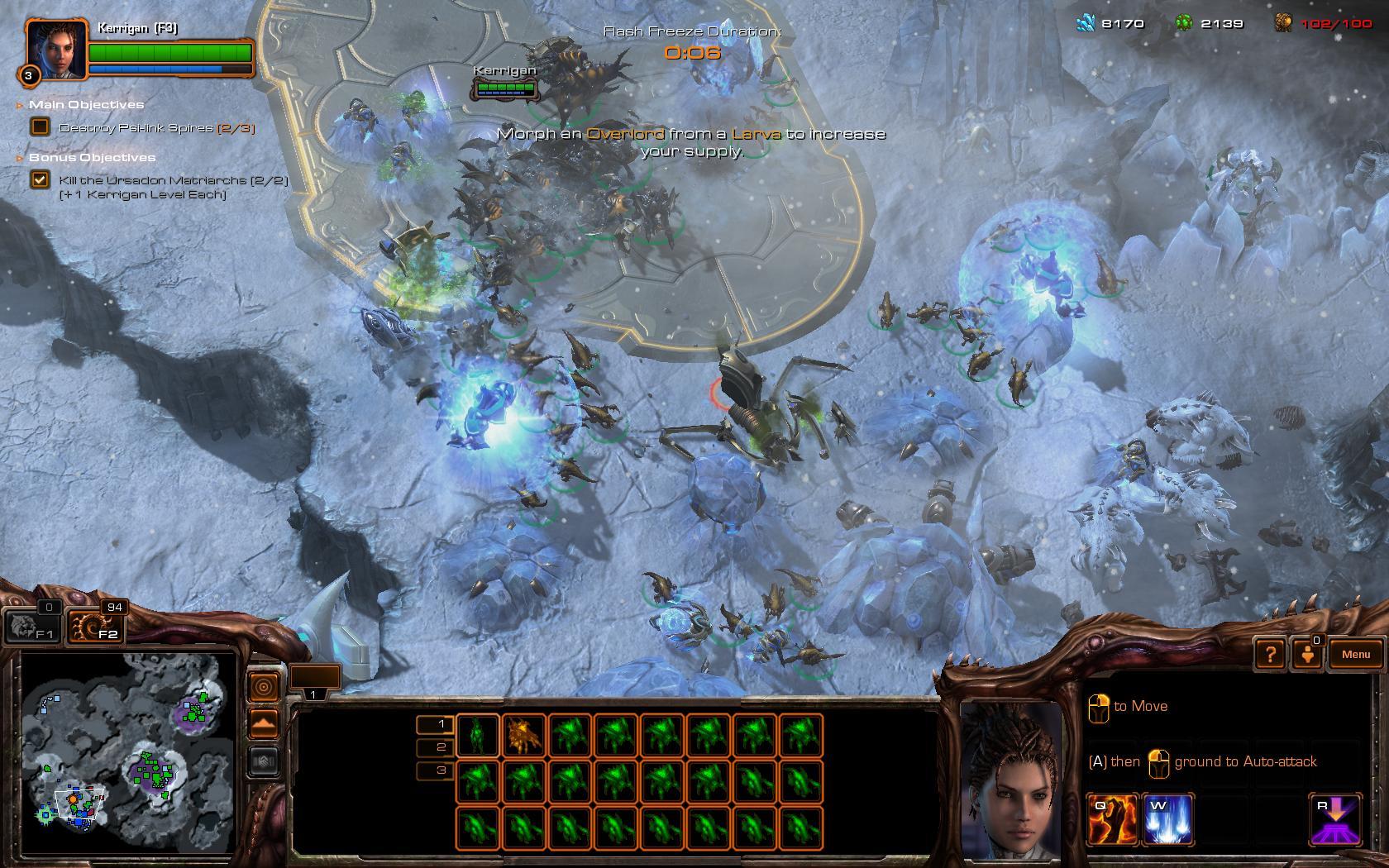 StarCraft 2: Heart of the Swarm - mezihvězdná pomsta 76952