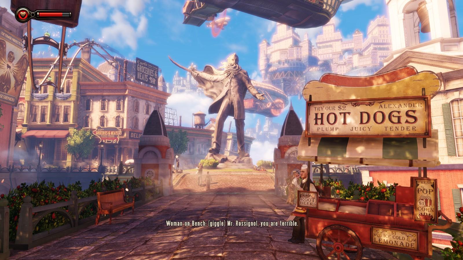 BioShock Infinite - okřídlené dobrodružství 78198