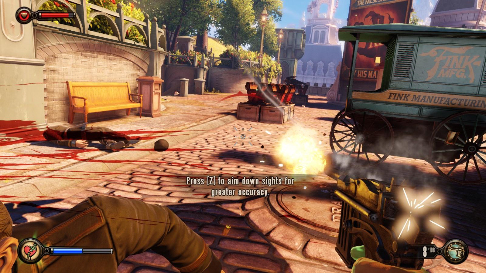 BioShock Infinite - okřídlené dobrodružství 78204