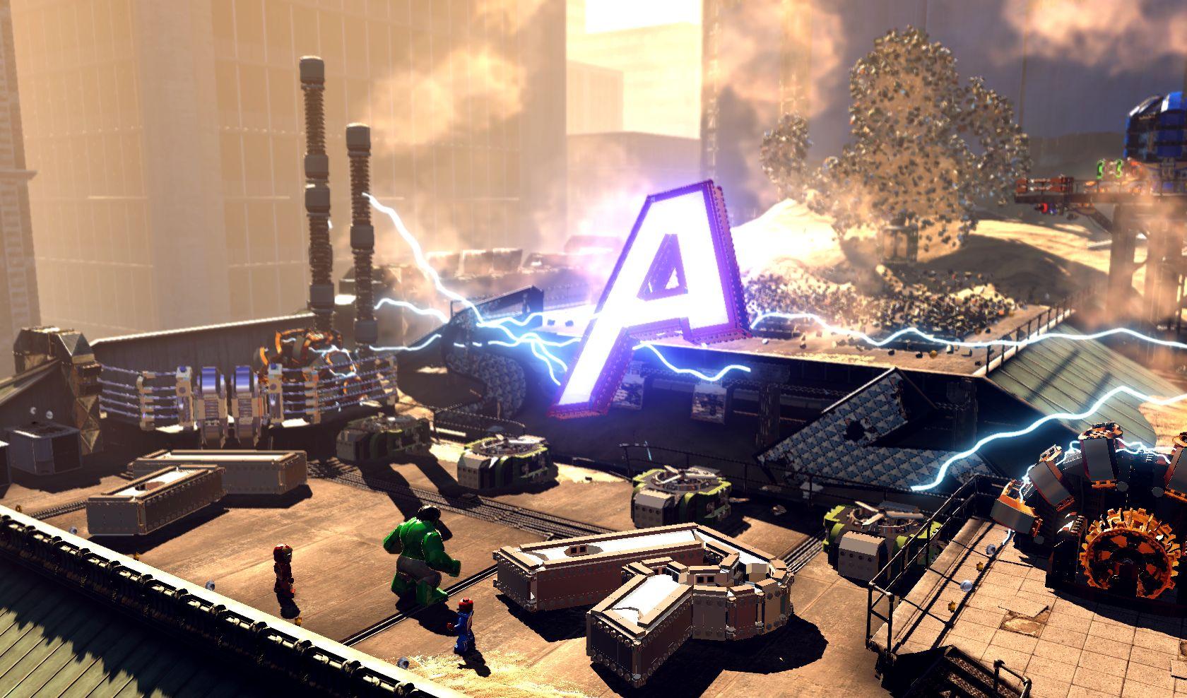 První gameplay záběry z LEGO Marvel Super Heroes 78952