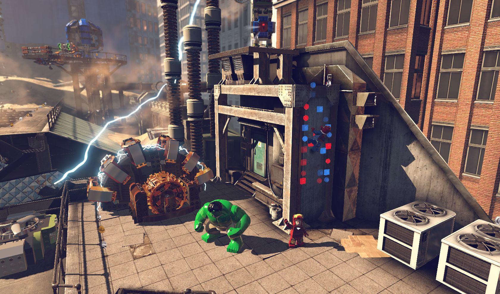 První gameplay záběry z LEGO Marvel Super Heroes 78953
