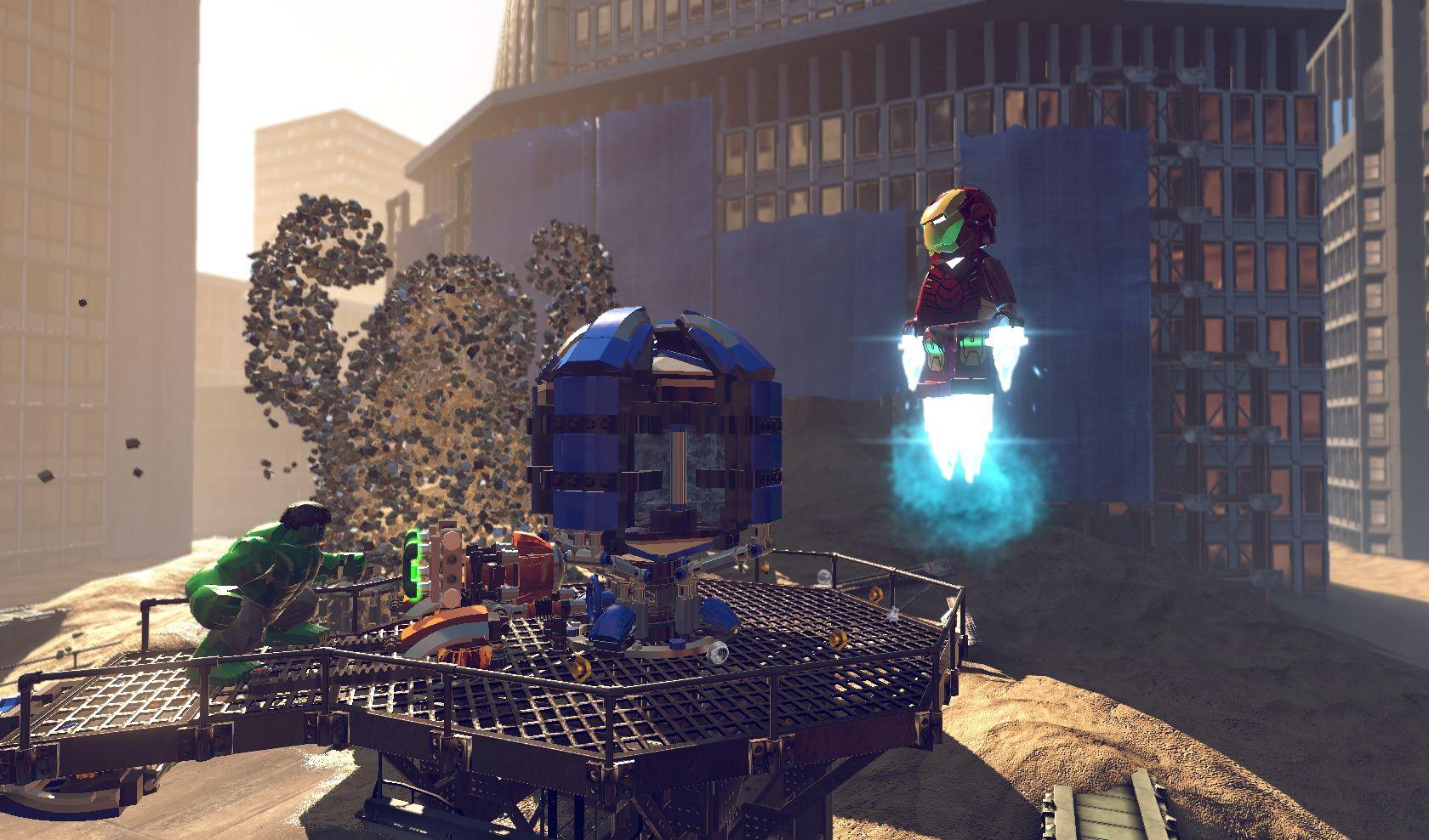 První gameplay záběry z LEGO Marvel Super Heroes 78956