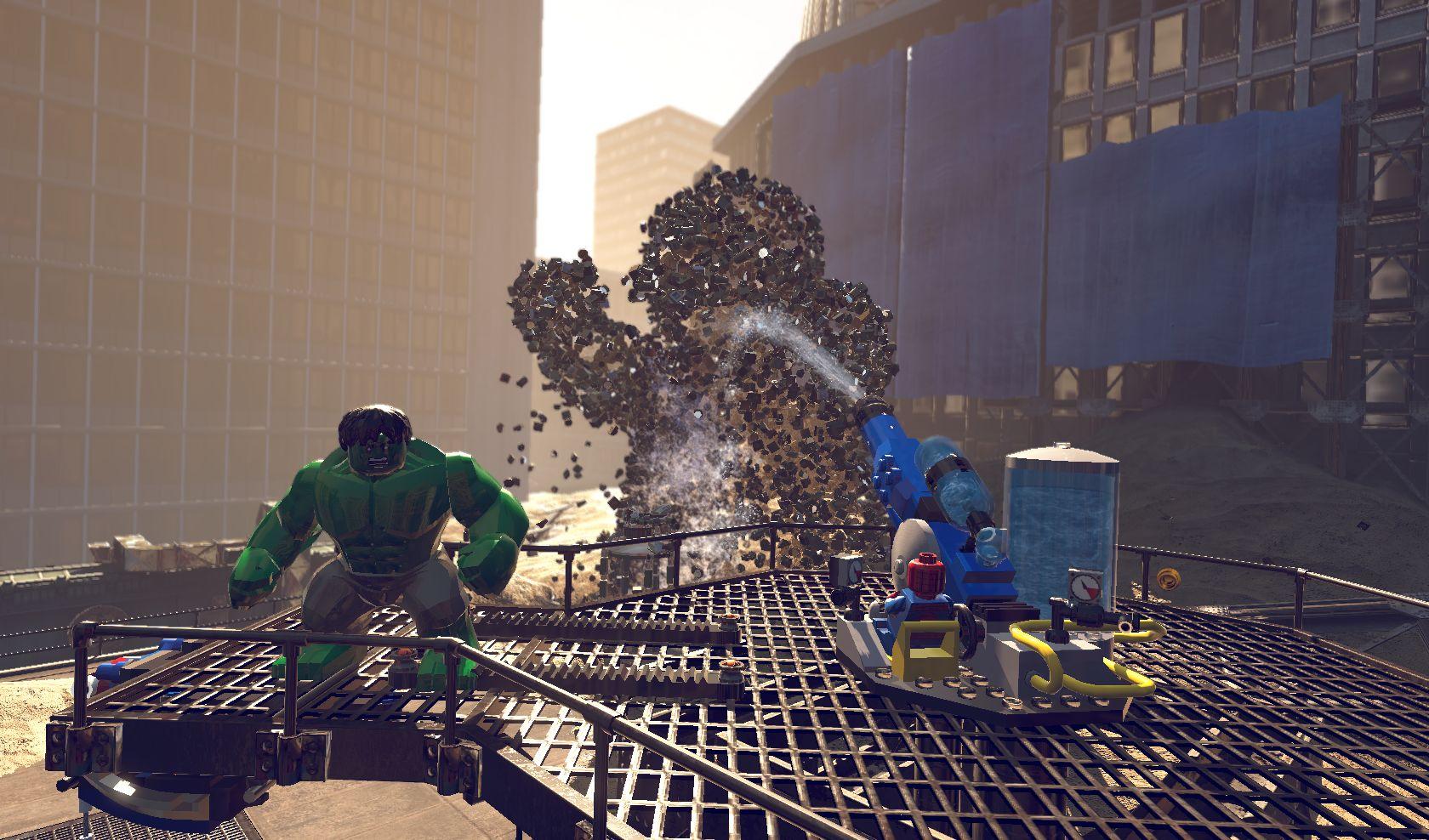 První gameplay záběry z LEGO Marvel Super Heroes 78957