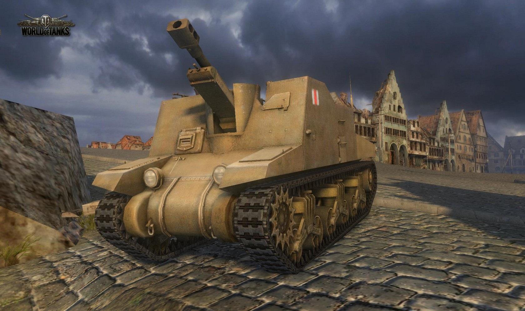 Nové stroje a mapa do World of Tanks 79007