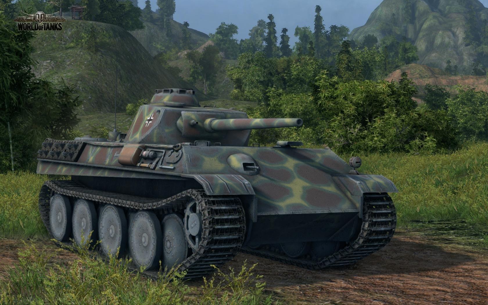 Nové stroje a mapa do World of Tanks 79008