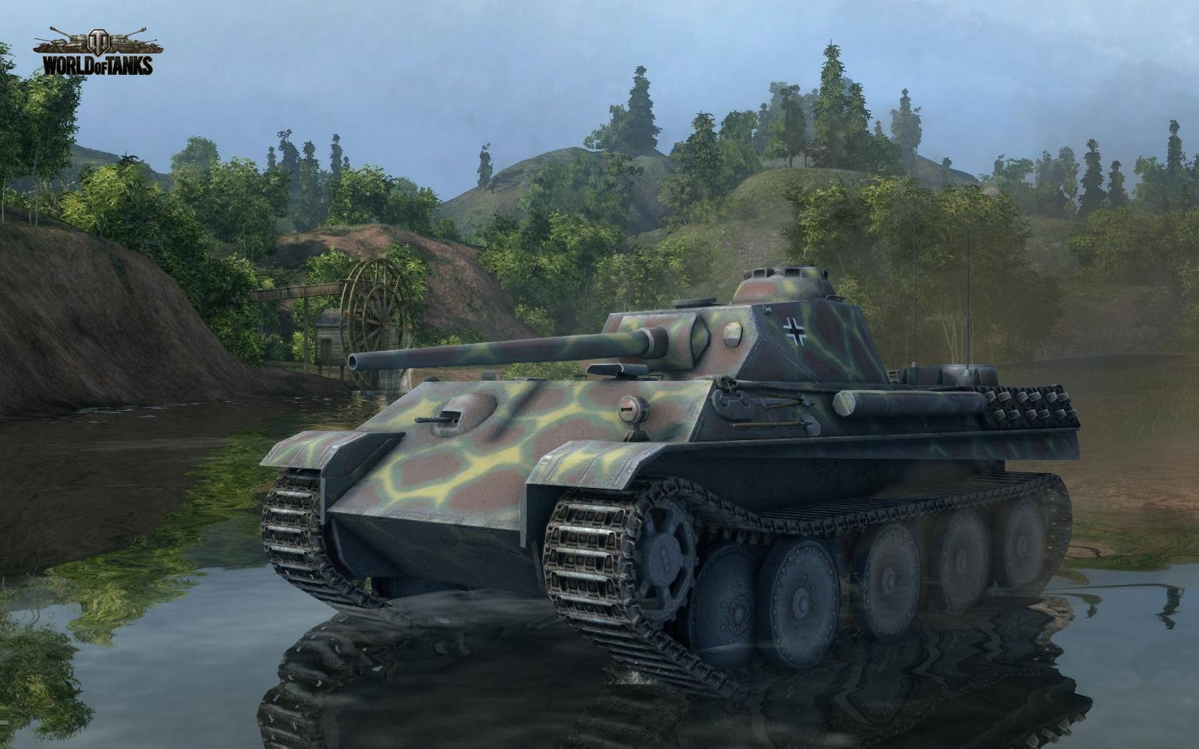 Nové stroje a mapa do World of Tanks 79010