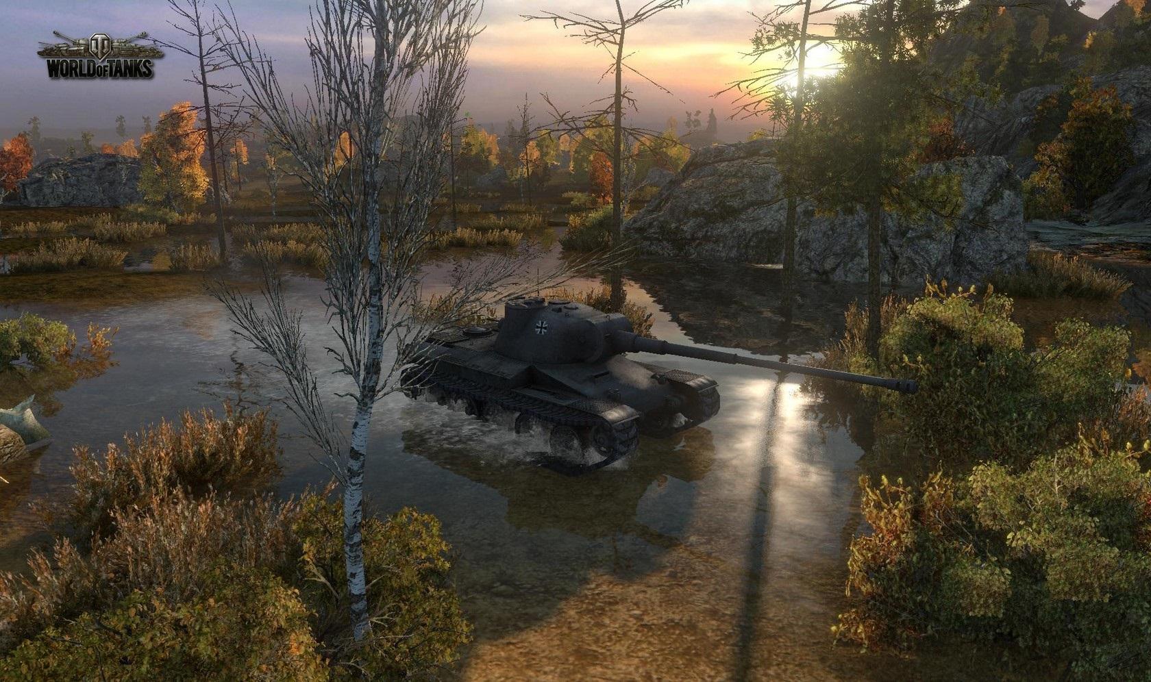 Nové stroje a mapa do World of Tanks 79012