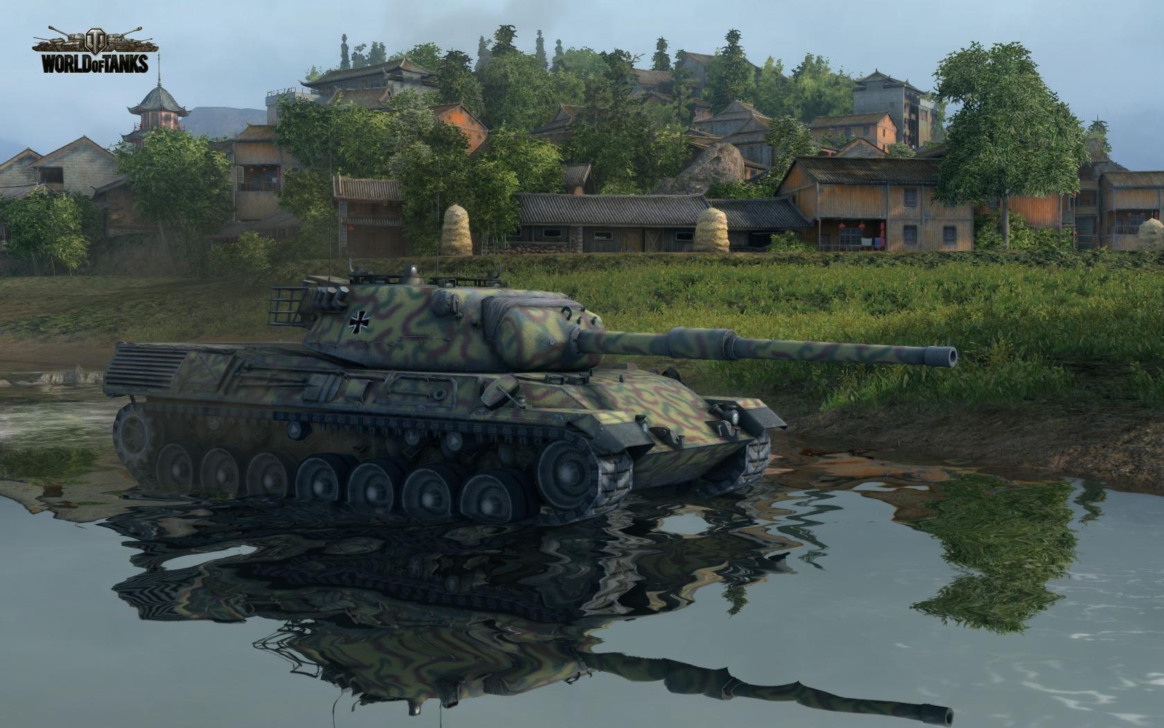 Nové stroje a mapa do World of Tanks 79016