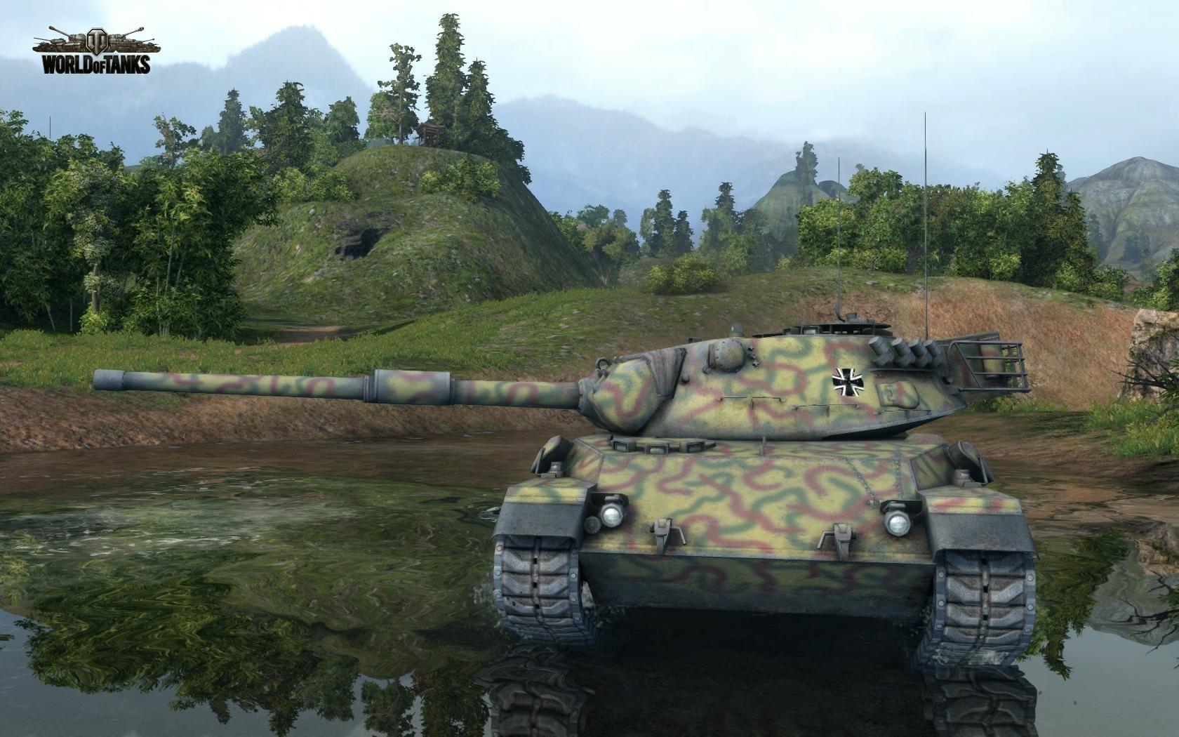 Nové stroje a mapa do World of Tanks 79017