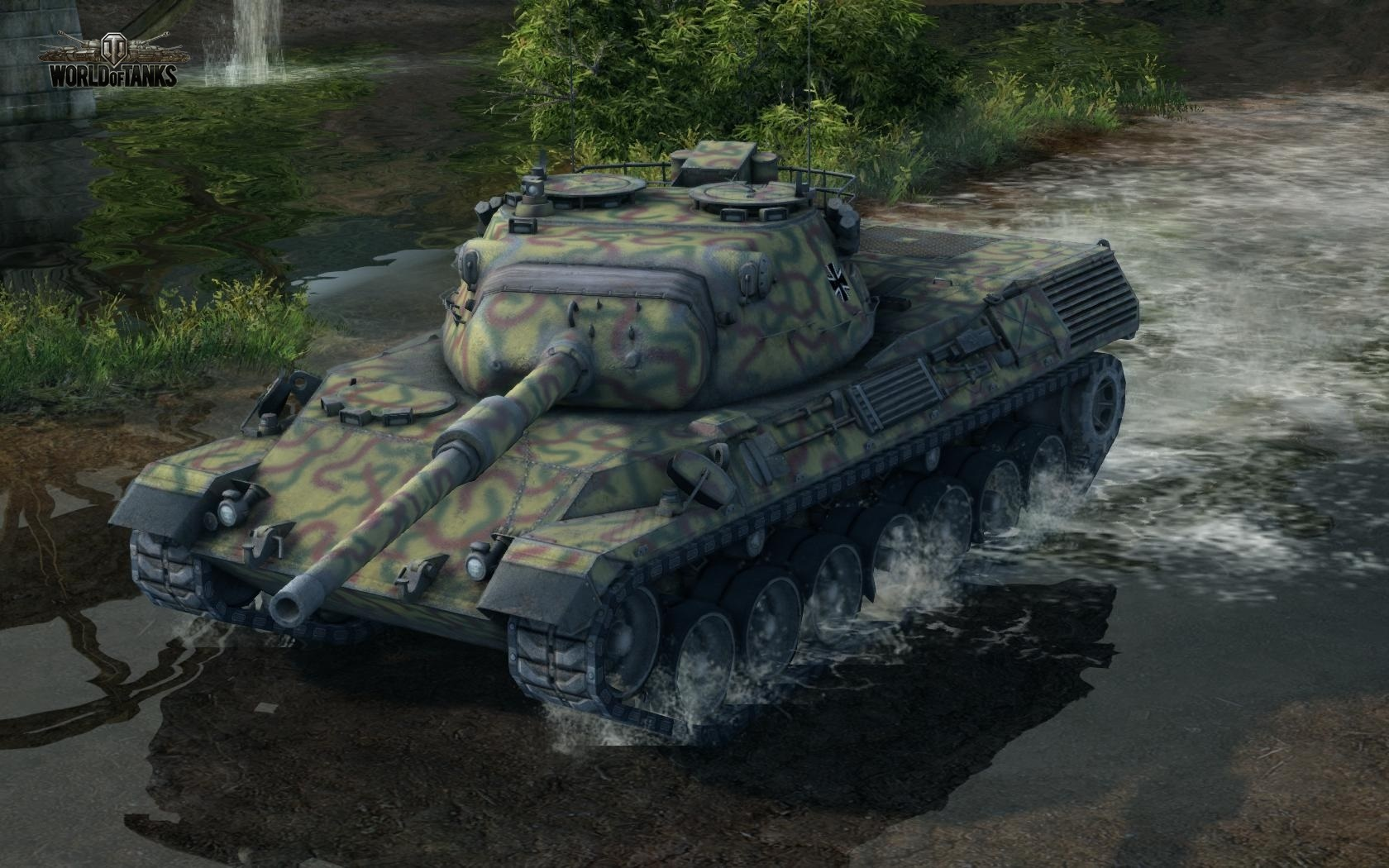 Nové stroje a mapa do World of Tanks 79018