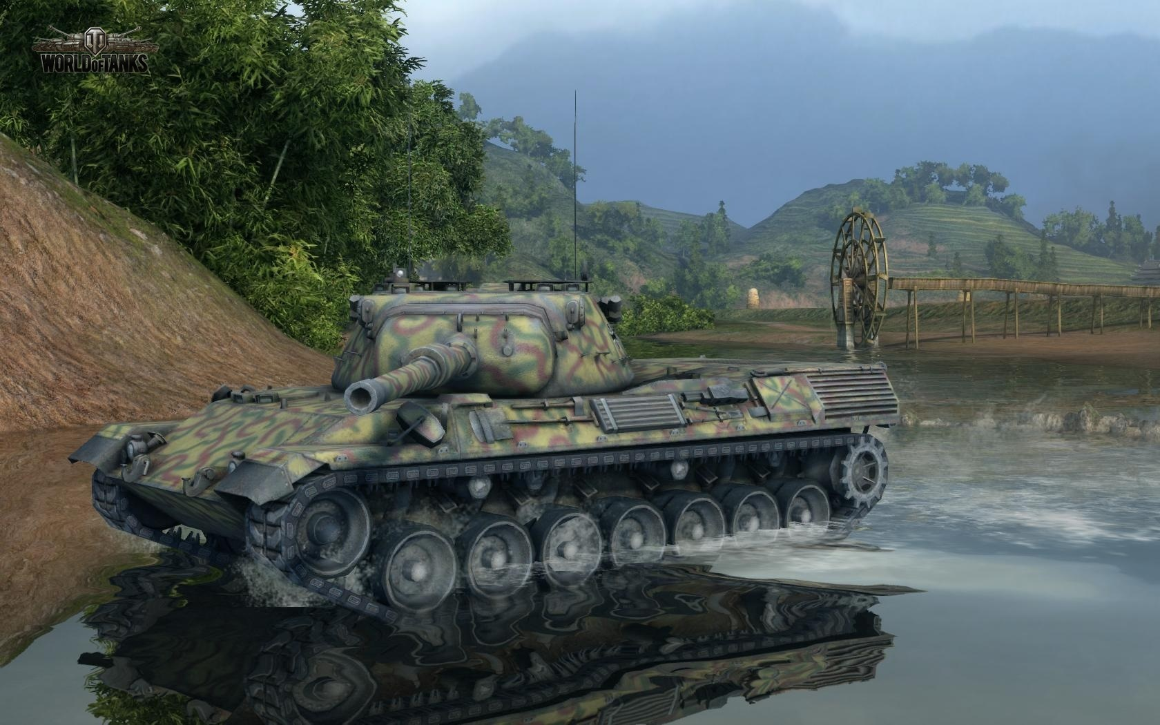 Nové stroje a mapa do World of Tanks 79019