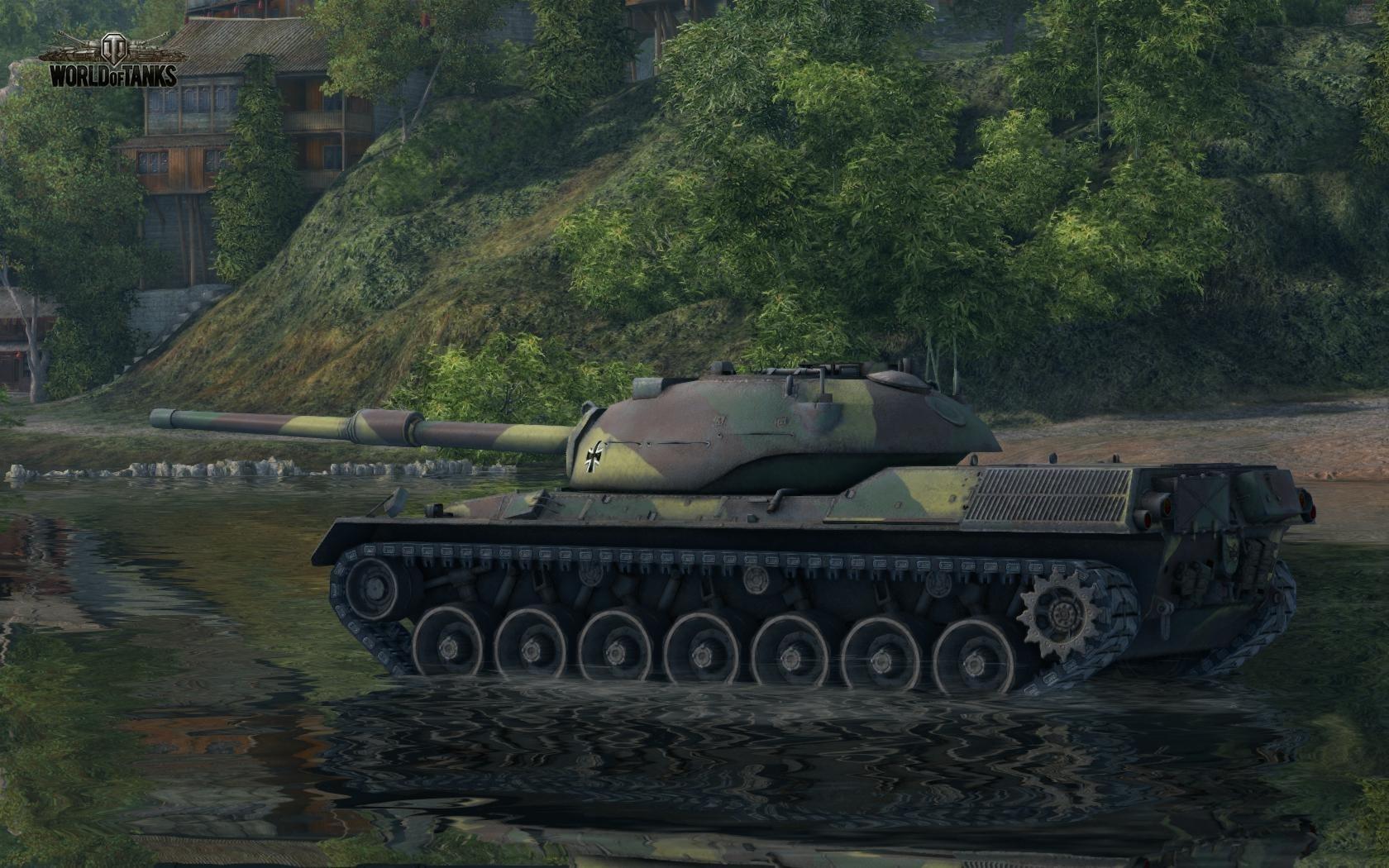 Nové stroje a mapa do World of Tanks 79021