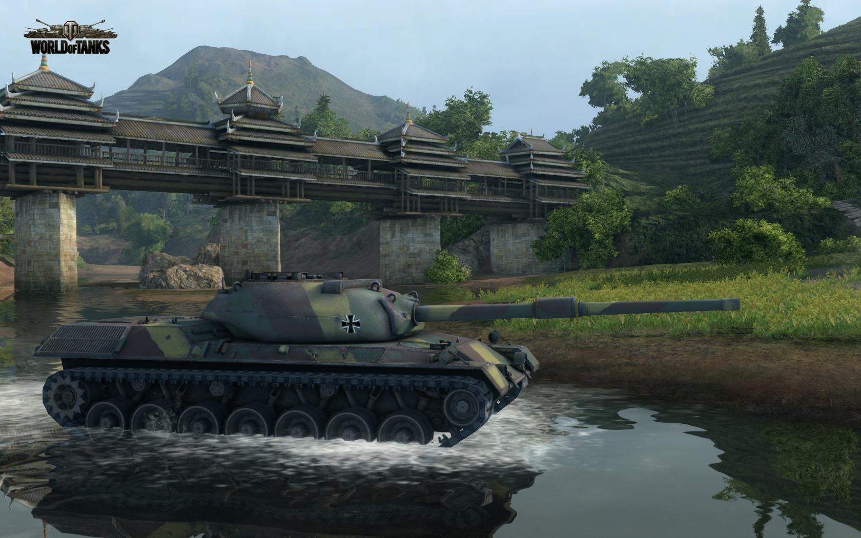 Nové stroje a mapa do World of Tanks 79022