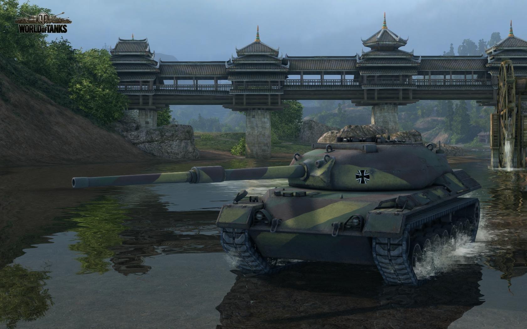 Nové stroje a mapa do World of Tanks 79023