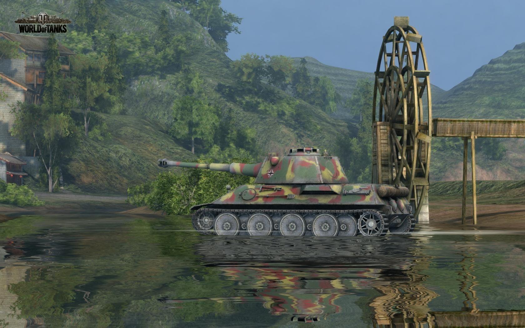 Nové stroje a mapa do World of Tanks 79026