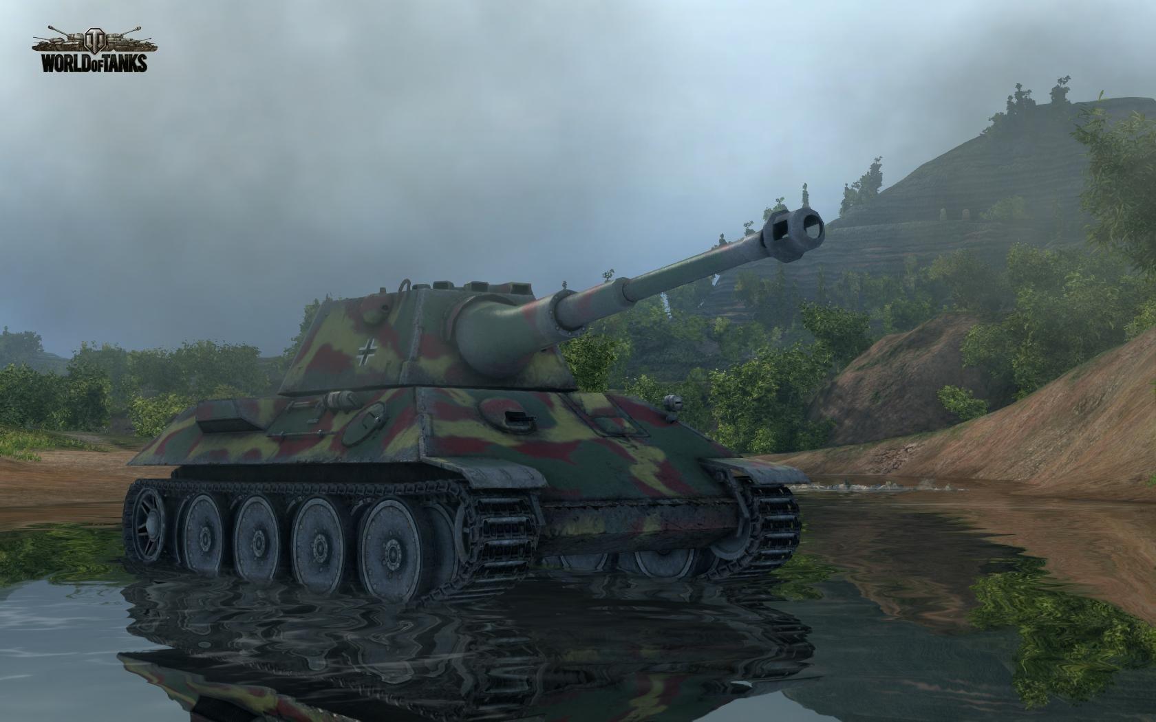 Nové stroje a mapa do World of Tanks 79027