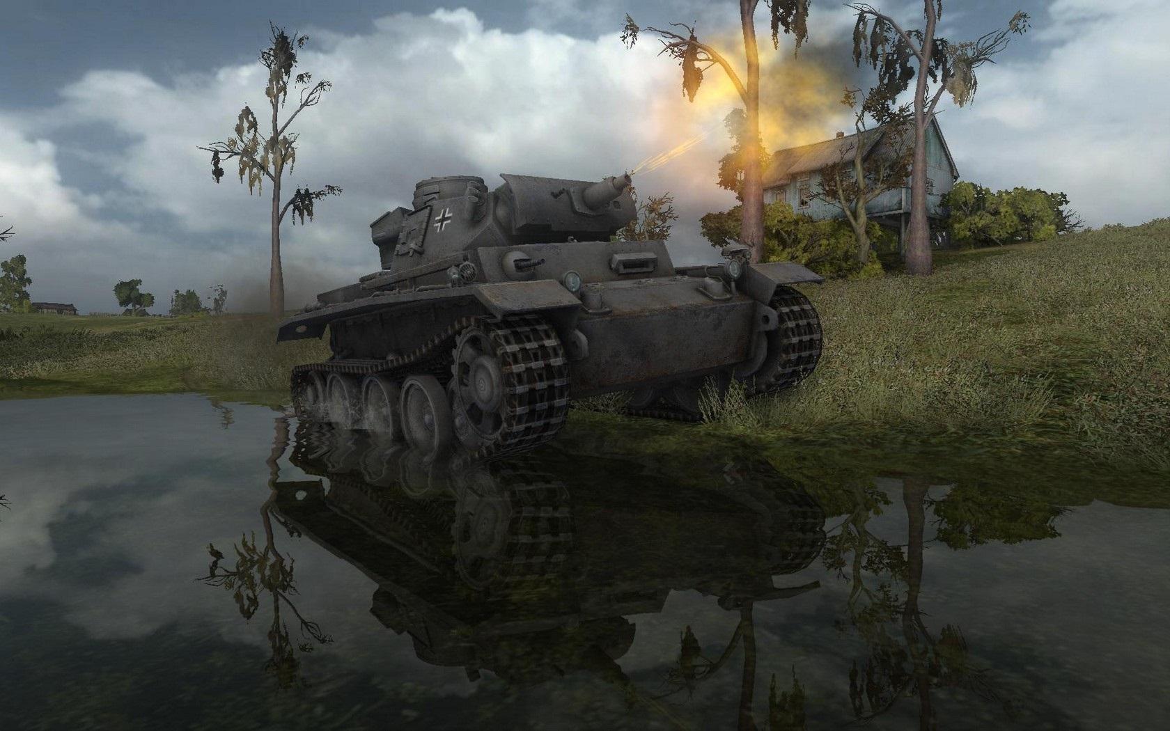 Nové stroje a mapa do World of Tanks 79028