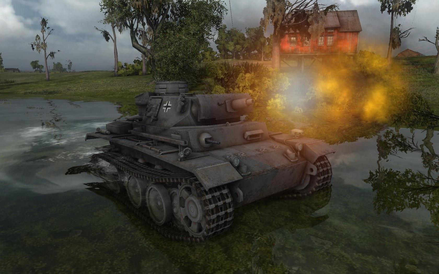 Nové stroje a mapa do World of Tanks 79029
