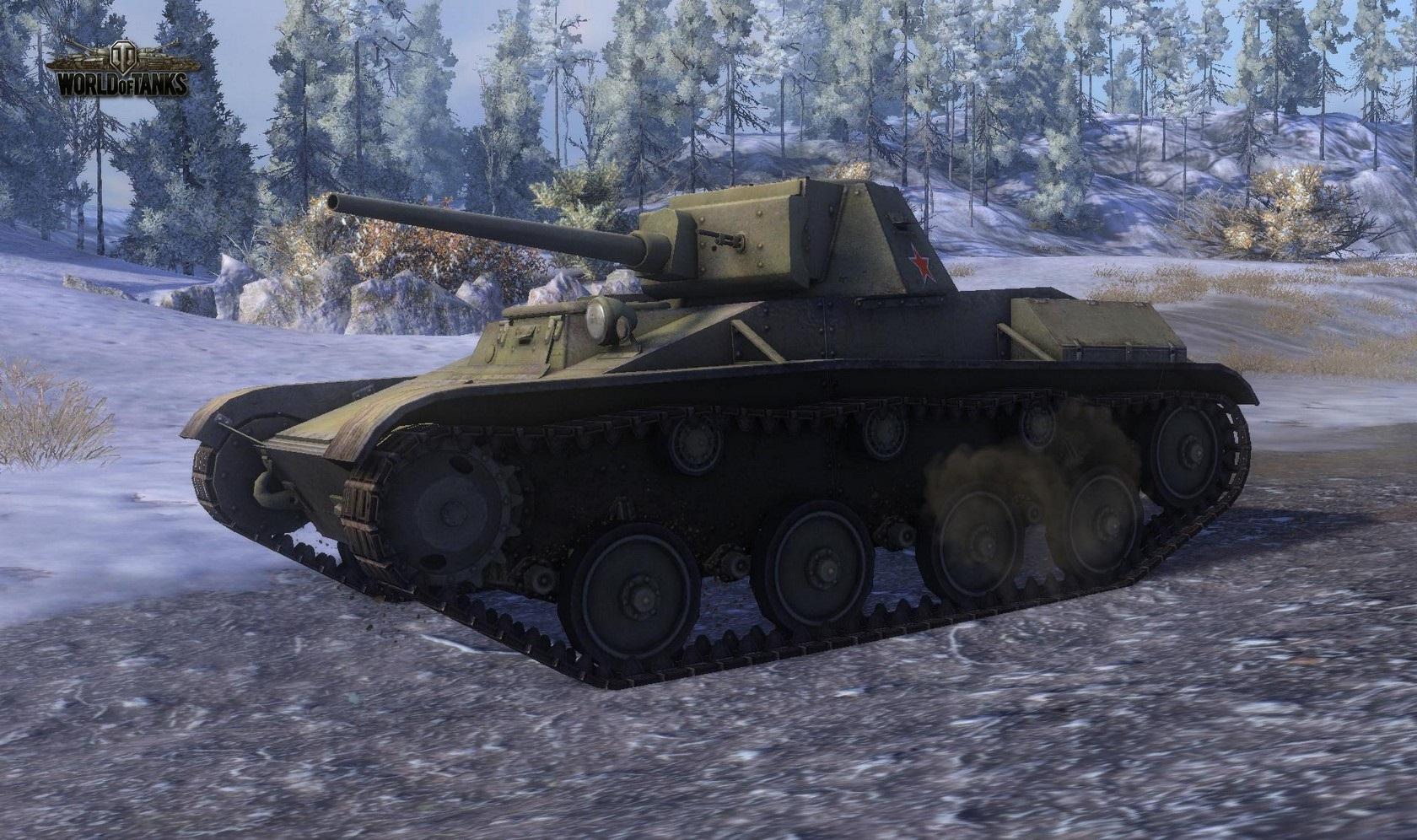 Nové stroje a mapa do World of Tanks 79031