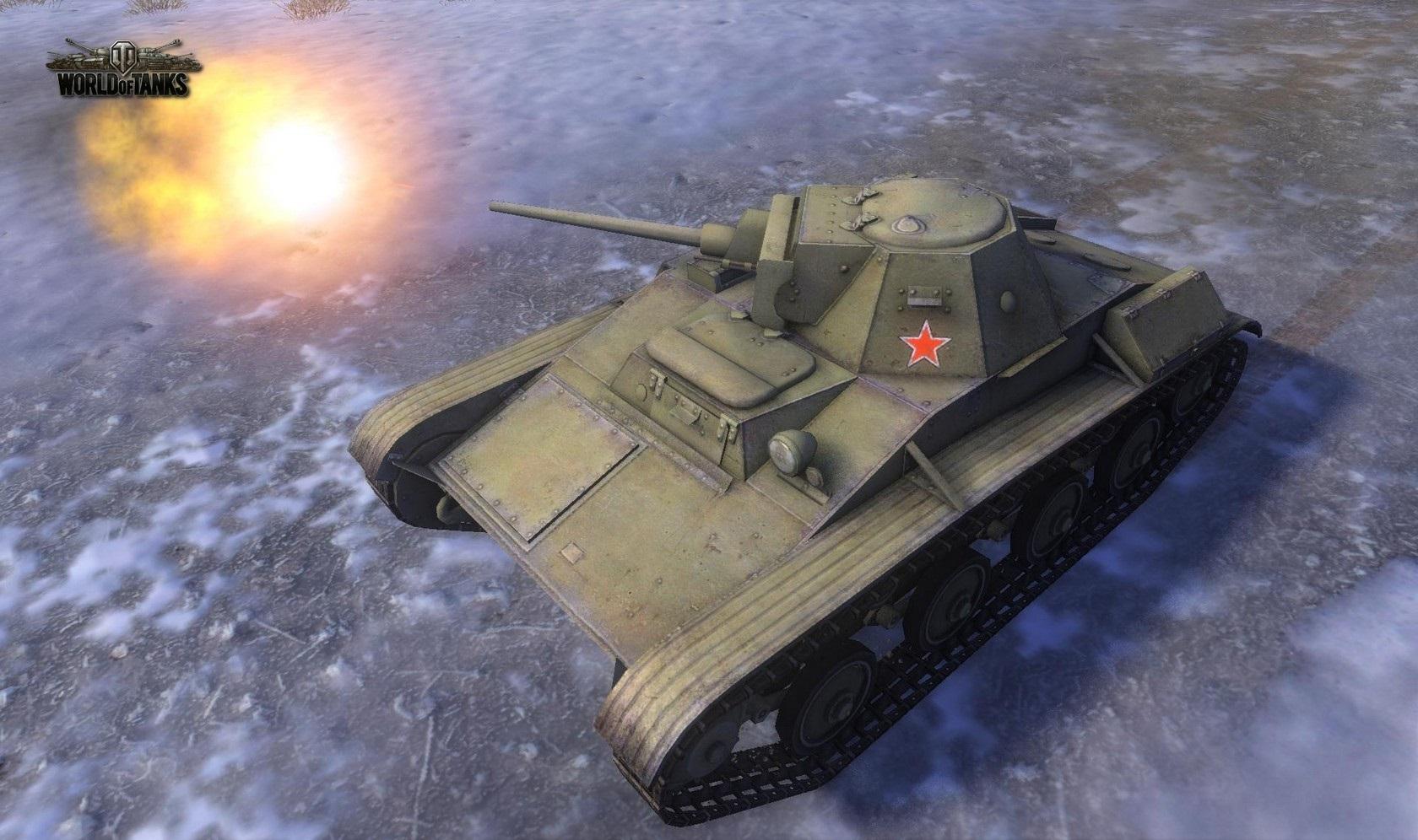 Nové stroje a mapa do World of Tanks 79032