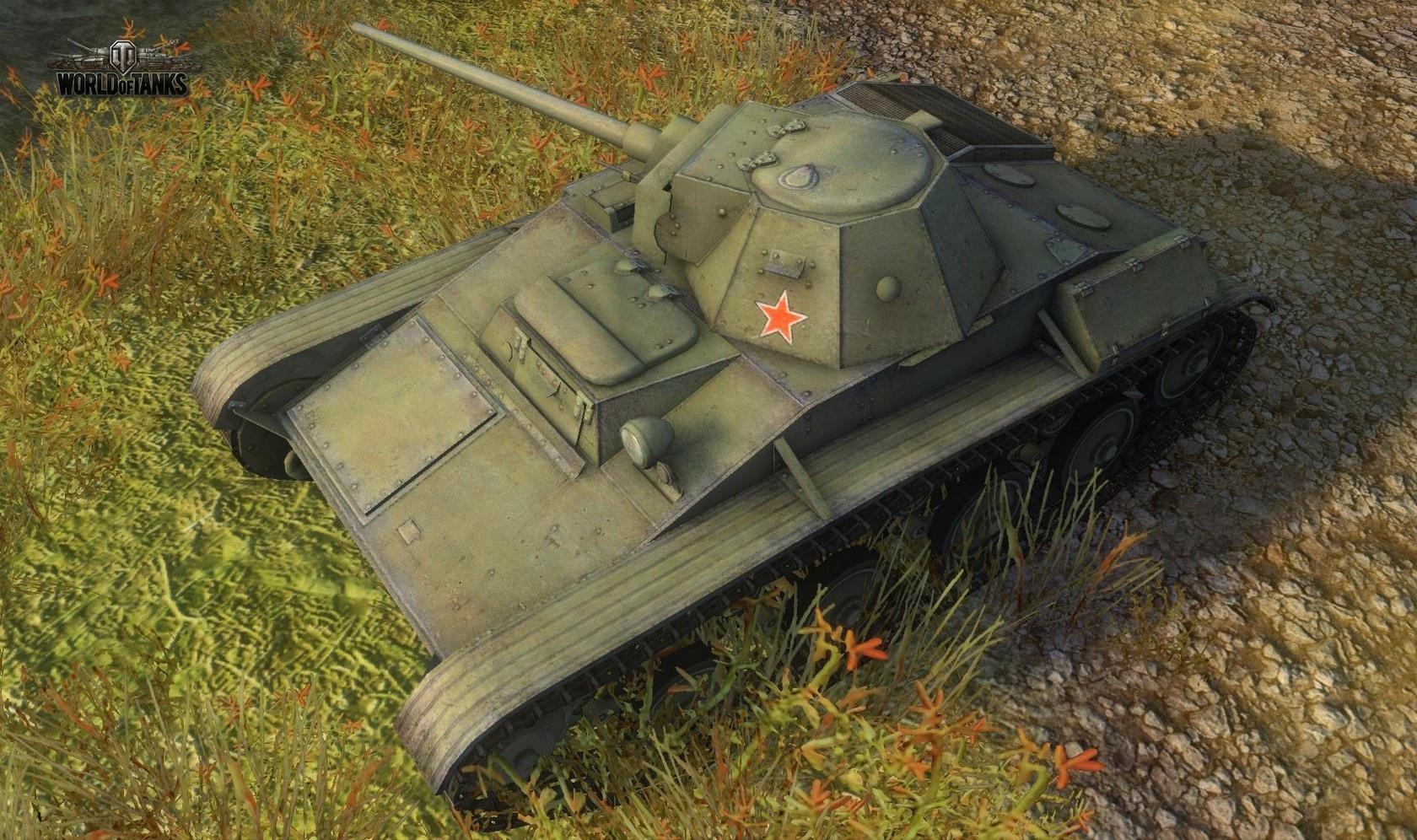 Nové stroje a mapa do World of Tanks 79033
