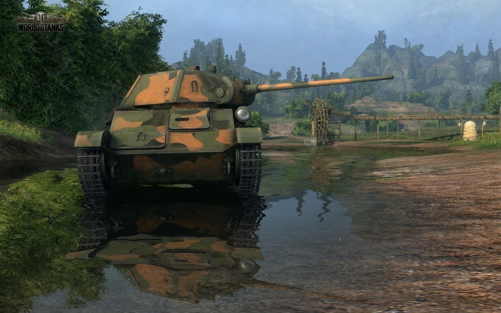 Nové stroje a mapa do World of Tanks 79038