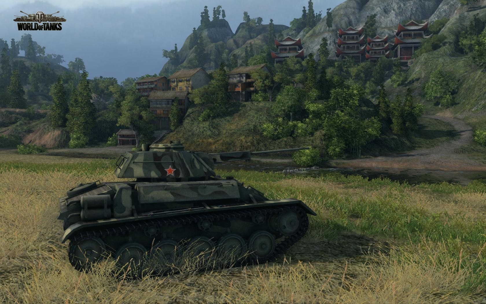 Nové stroje a mapa do World of Tanks 79039