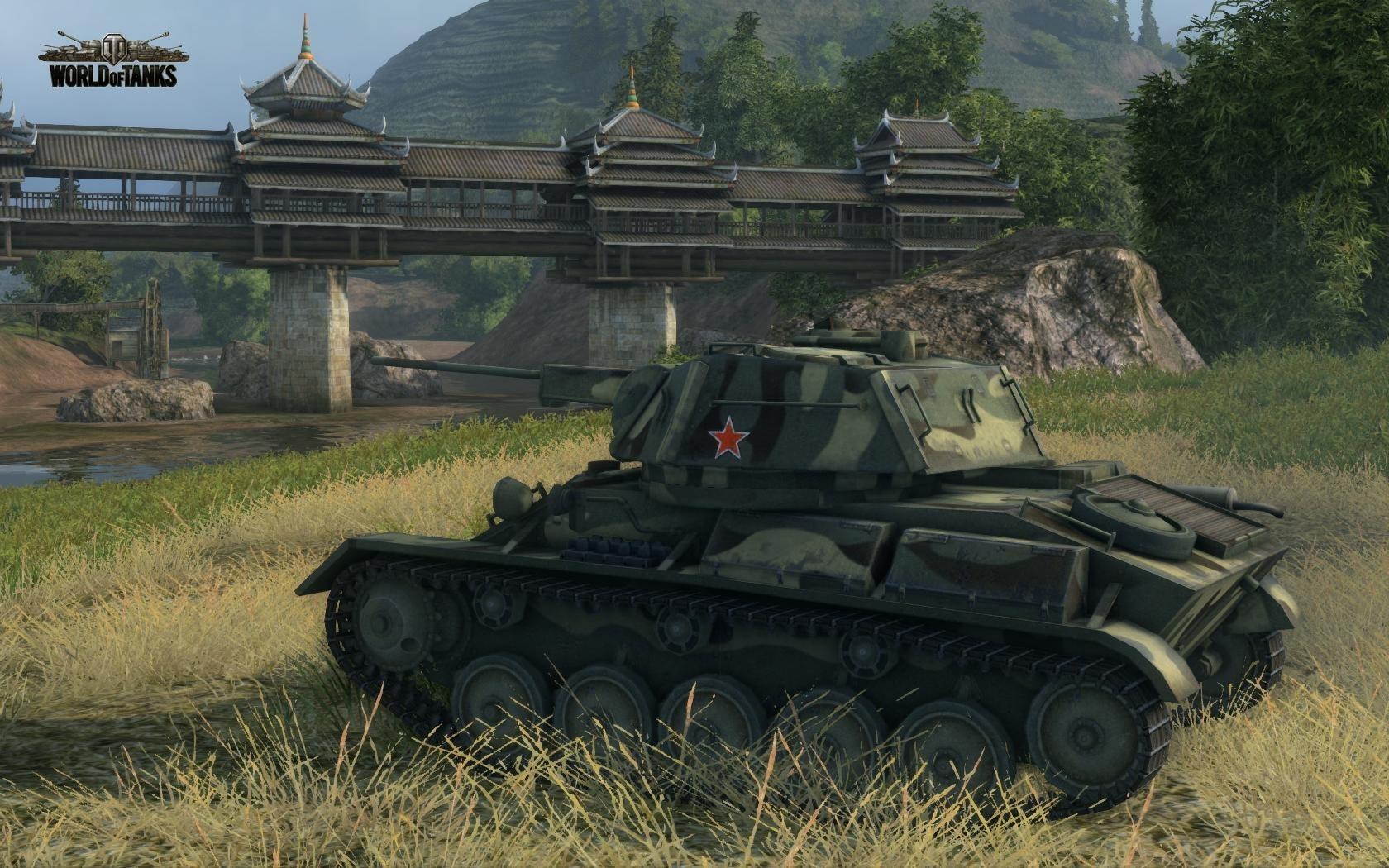 Nové stroje a mapa do World of Tanks 79041