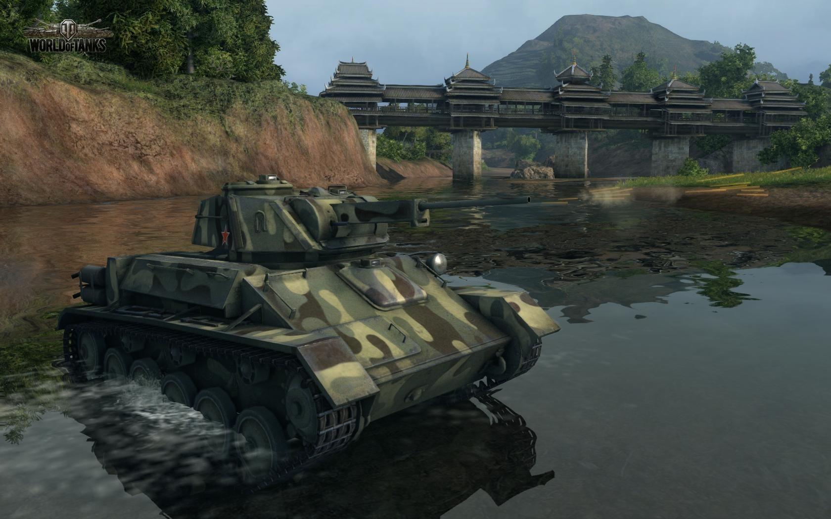Nové stroje a mapa do World of Tanks 79042