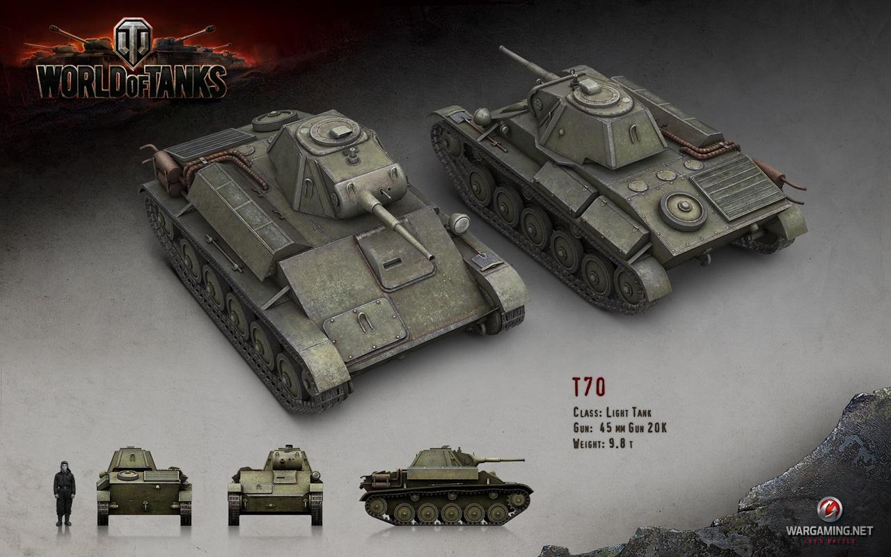 Nové stroje a mapa do World of Tanks 79044