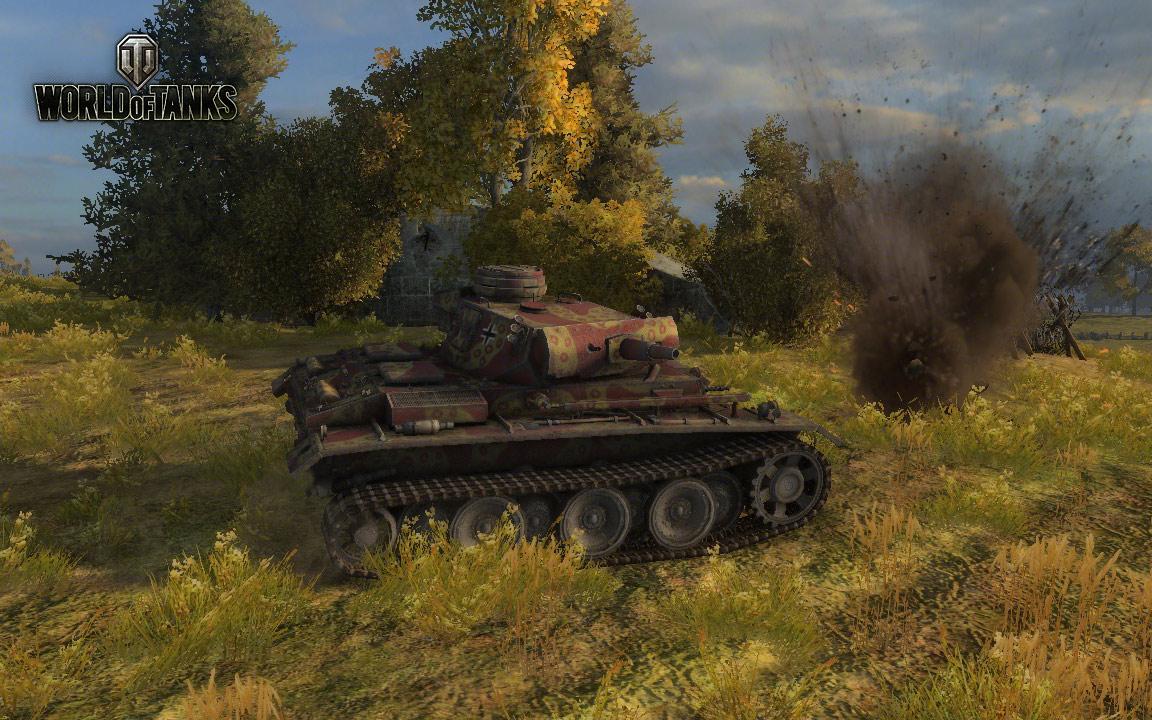 Nové stroje a mapa do World of Tanks 79045
