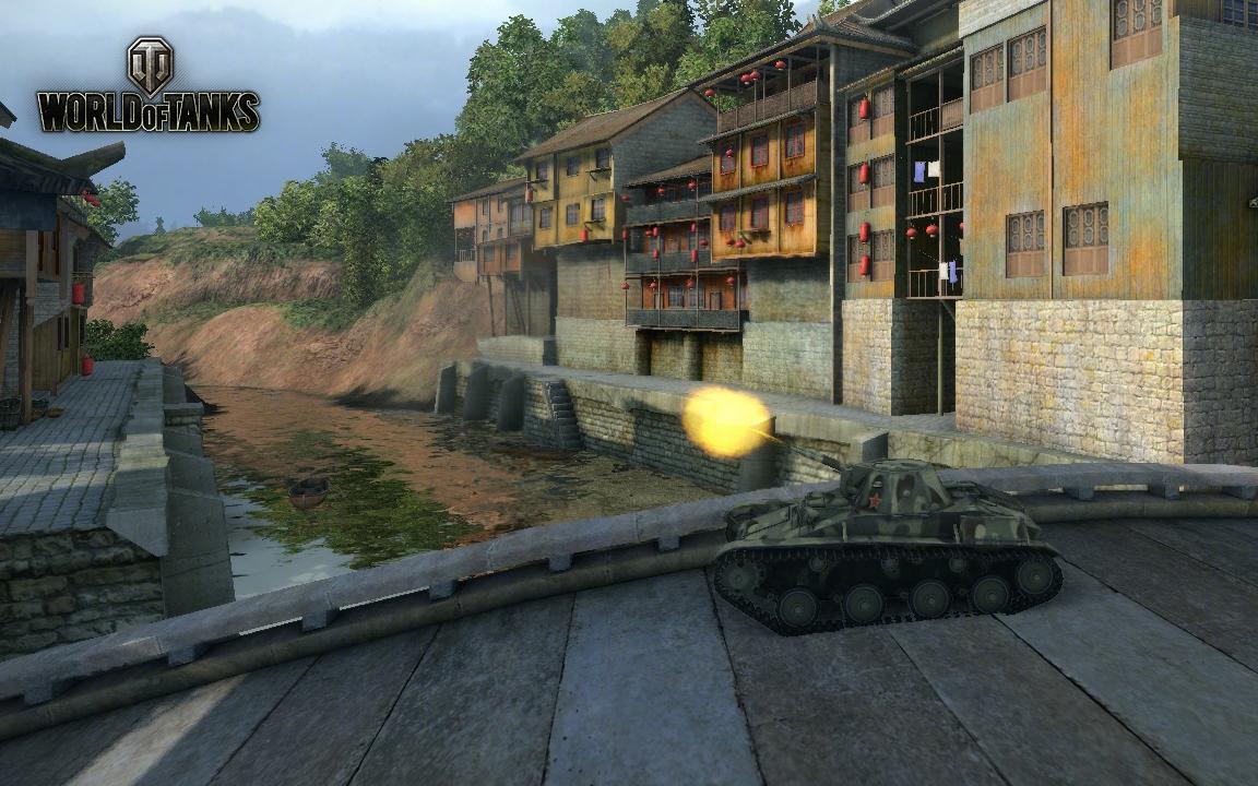 Nové stroje a mapa do World of Tanks 79050