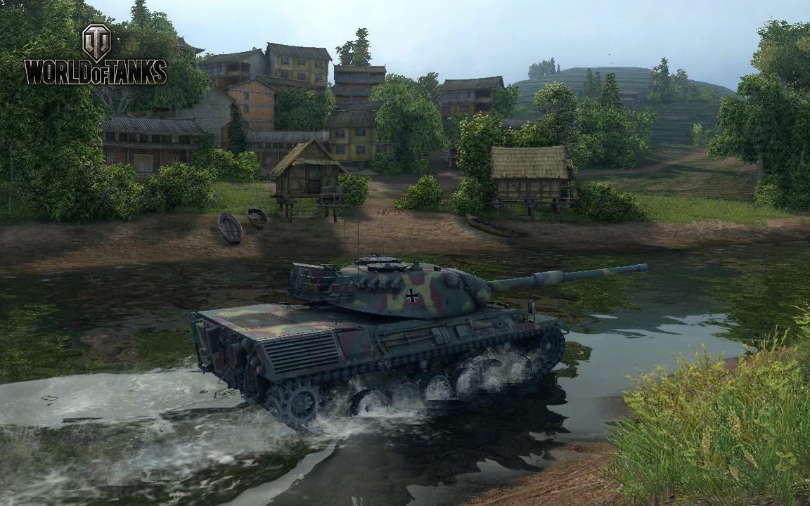Nové stroje a mapa do World of Tanks 79054
