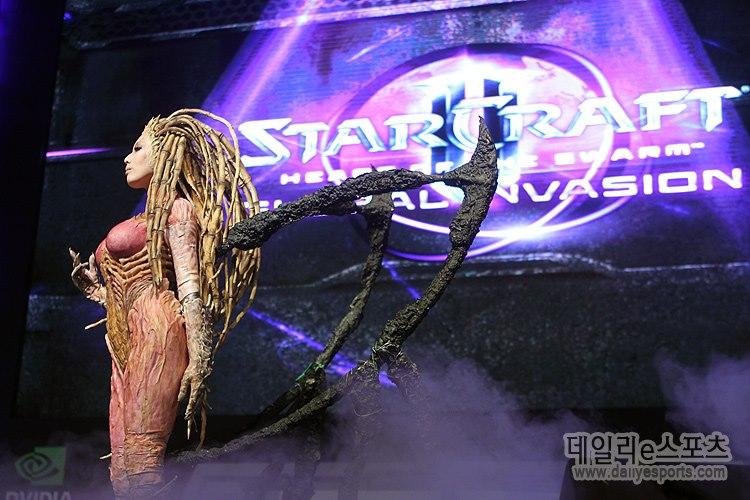 Cosplay Sarah Kerrigan ze StarCraftu 2 79283