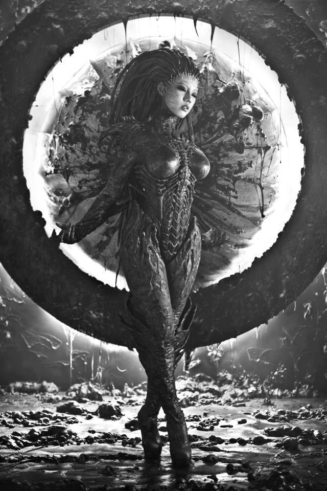 Cosplay Sarah Kerrigan ze StarCraftu 2 79285