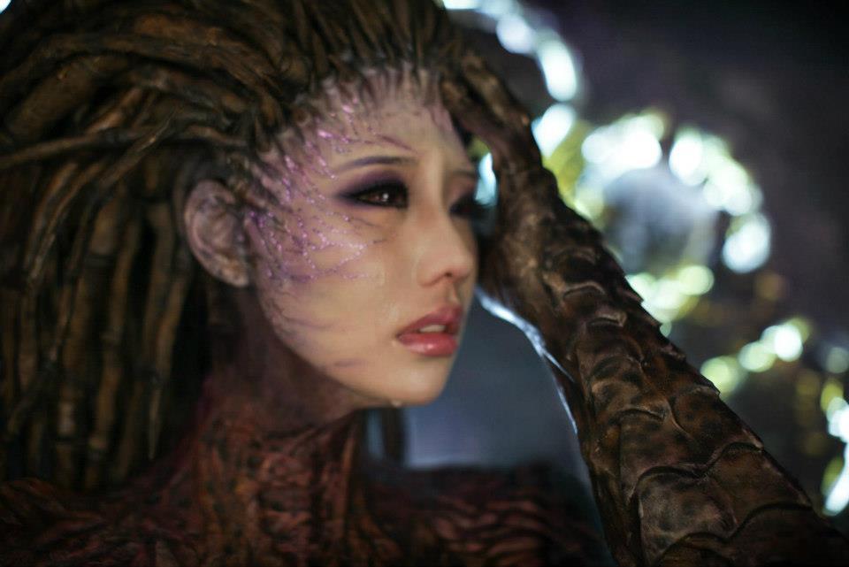 Cosplay Sarah Kerrigan ze StarCraftu 2 79287