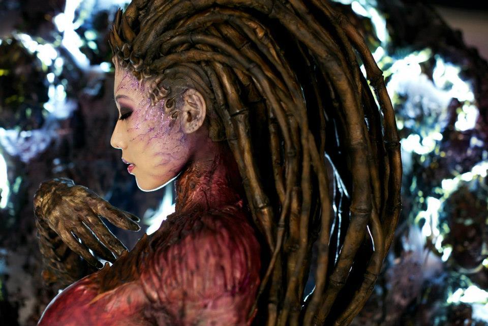 Cosplay Sarah Kerrigan ze StarCraftu 2 79288