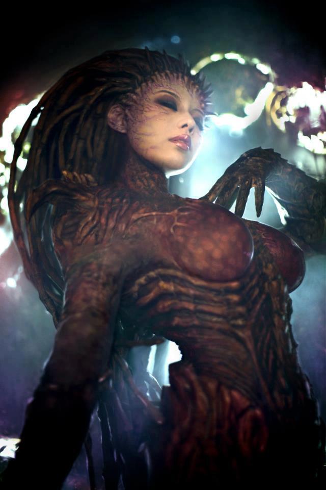 Cosplay Sarah Kerrigan ze StarCraftu 2 79290