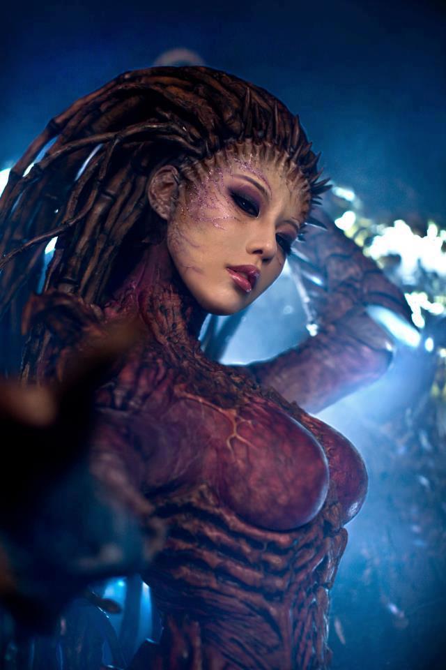 Cosplay Sarah Kerrigan ze StarCraftu 2 79291