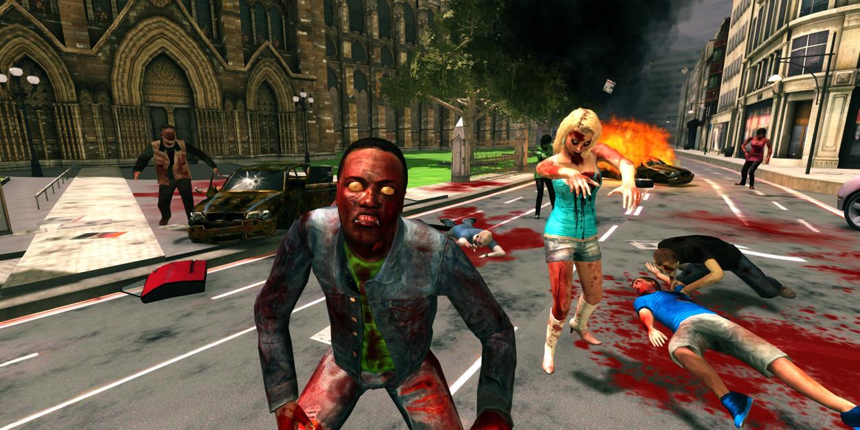 Londýn plný zombíků v FPS titulu Deadly Walkers 79380