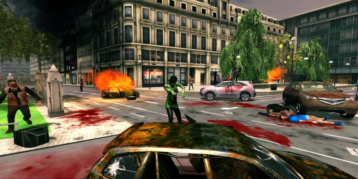 Londýn plný zombíků v FPS titulu Deadly Walkers 79381