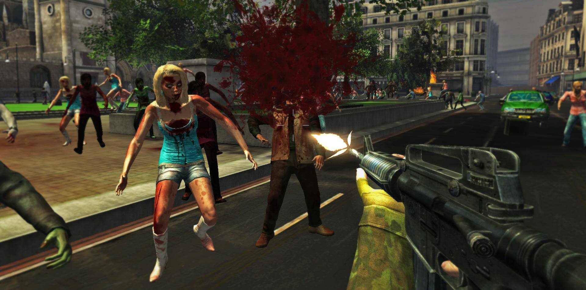 Londýn plný zombíků v FPS titulu Deadly Walkers 79385