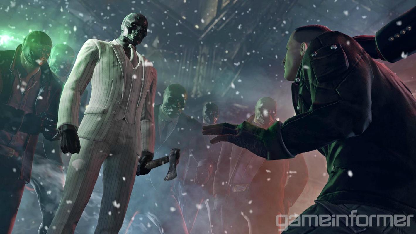 První obrázky z Batman: Arkham Origins 79445