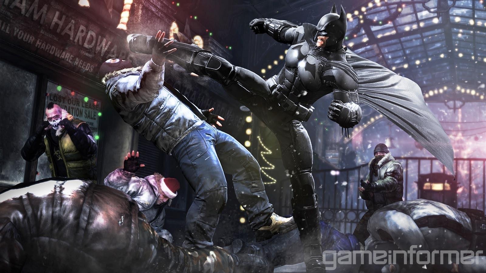 První obrázky z Batman: Arkham Origins 79456