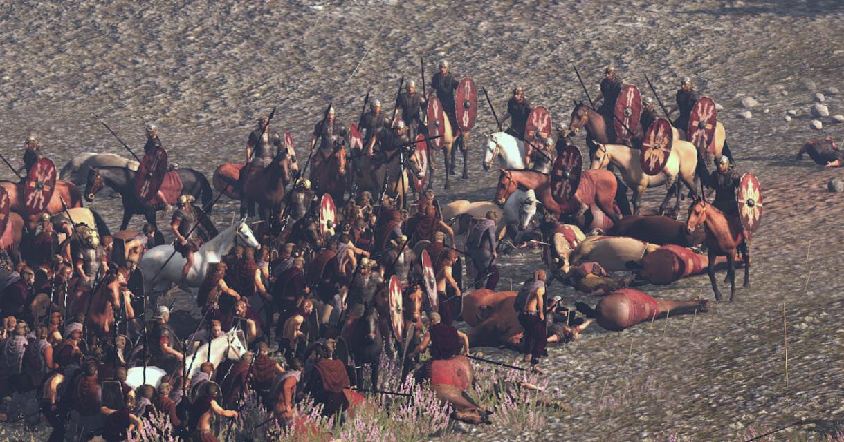 Panoramatické záběry na bitvu v Teutoburském lese z Total War: Rome 2 79490
