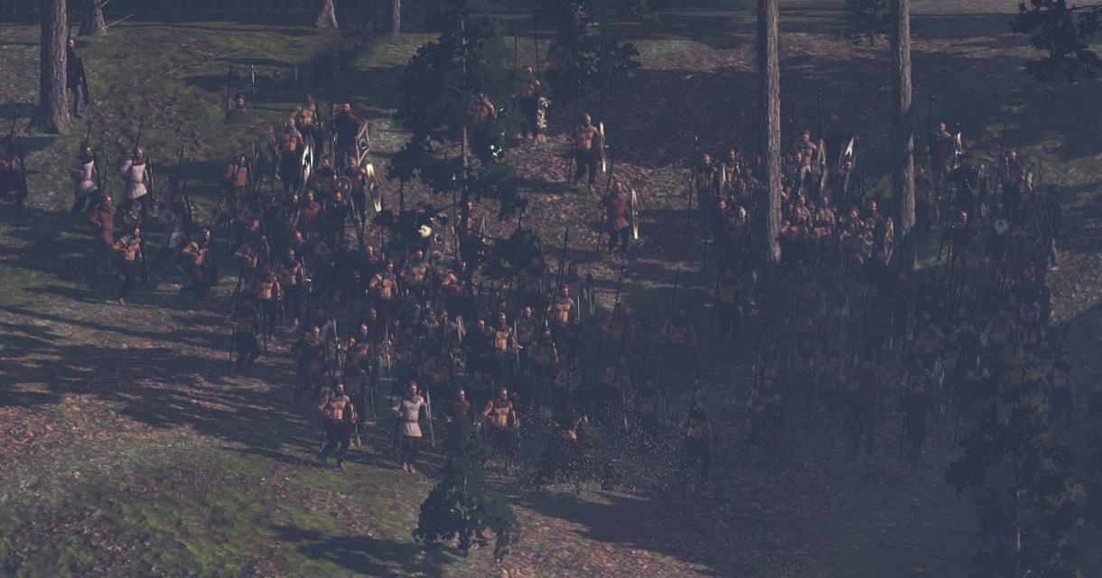 Panoramatické záběry na bitvu v Teutoburském lese z Total War: Rome 2 79493